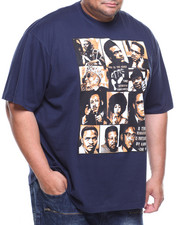 Big & Tall - S/S Black History Heroes Graphic Tee (B&T)-2184622