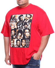 Big & Tall - S/S Black History Heroes Graphic Tee (B&T)-2184538