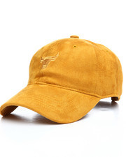 Dad Hats - Street Bullies Suede Dad Hat