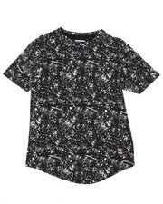 Boys - Splash Print Scoop Bottom Tee (8-20)-2183801