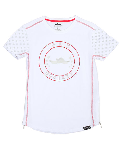 Fly Society - Mirror Foil Fashion Tee (8-20)