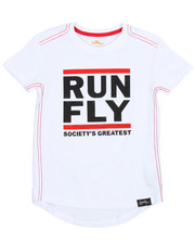 Flysociety - Raised HD Print Tee (4-7)