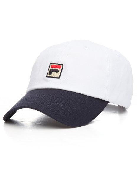 68e9d9ec754 Buy Heritage Color Block Dad Hat Men s Hats from Fila. Find Fila ...