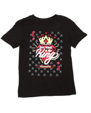 Boys - All Hail The King Graphic Tee (8-20)-2183860