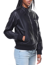 Outerwear - Members Only Faux Leather Jacket