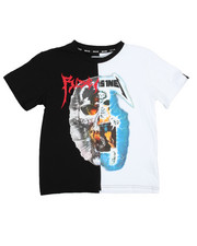 Tops - Arise Tour Hell Skull & Ride The Lighting Tee (8-20)-2179283