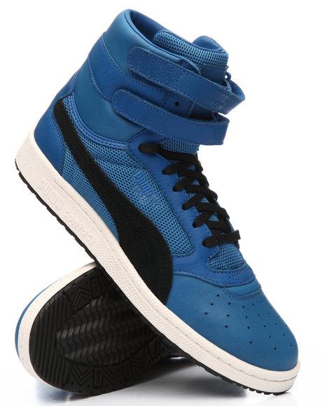 35b4ec2bd0 Buy Sky II Hi Color Block Sneakers Men's Footwear from Puma. Find ...