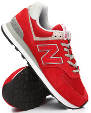 New Balance - 574 Suede Mesh Sneakers
