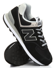 New Balance - 574 Suede Mesh Sneakers-2185349