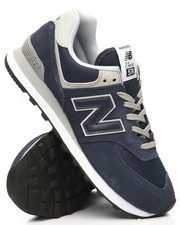 New Balance - 574 Suede Mesh Sneakers-2185305