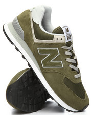New Balance - 574 Suede Mesh Sneakers-2185327