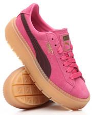 Footwear - Platform Trace Block Sneakers