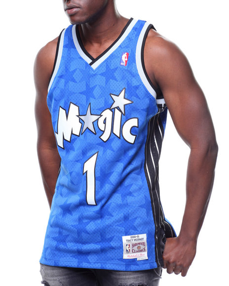 66df0bb86ee Buy Orlando Magic Swingman Jersey - Tracy McGrady  1 Men s Shirts ...