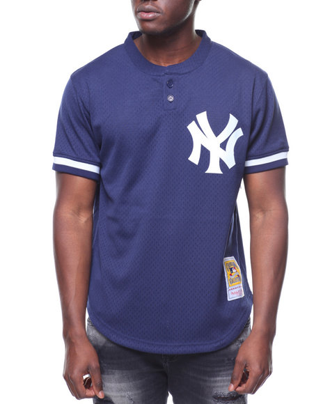 a10a72d5e5f85 Mitchell   Ness - New York Yankees Authentic Mesh BP Jersey - Don Mattingly   23