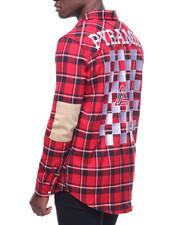 Black Pyramid - Checker Plaid Shirt