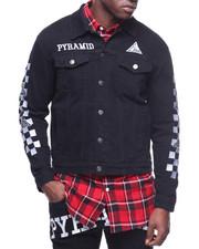 Black Pyramid - Checker Denim Jacket