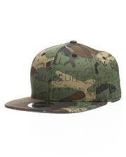 New Era - 9Fifty 90s Grunge Graffiti Snapback Hat