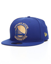New Era - 9Fifty Gold State Warriors Squad Twist Snapback Hat