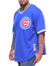 Mitchell & Ness - Chicago Cubs Ryne Sandberg Mitchell & Ness Authentic Mesh BP Jersey (B&T)