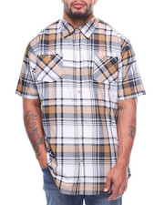 Akademiks - S/S Ramsey Yarn-Dyed Plaid Woven (B&T)