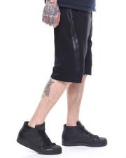 Shorts - WRAP AROUND ZIP TECH FLEECE SHORT