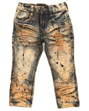 Arcade Styles - Sahara Rip & Repair Denim Jean (2T-4T)