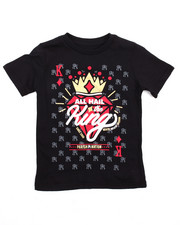 Tops - All Hail The King Graphic Tee (4-7)