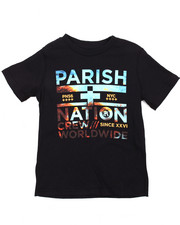 Tops - Worldwide Graphic Tee (8-20)-2184278