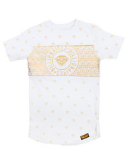 Tops - All Over Foil Tee (4-7)
