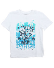 Tops - Living World Graphic Tee (8-20)