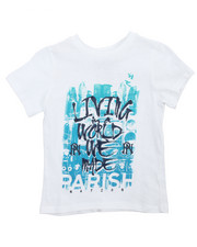 Tops - Living World Graphic Tee (4-7)