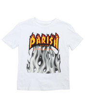 Tops - More Fiyah Graphic Tee (8-20)