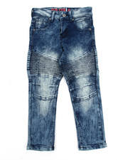 Bottoms - Ice Moto Denim Jean (4-7)