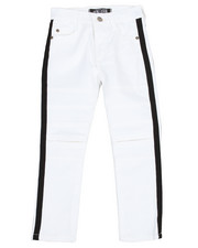 Bottoms - Cut Knee Side Stripe Pants (4-7)