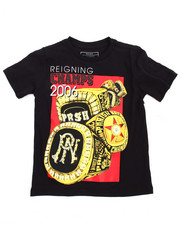Tops - Rings Graphic Tee (4-7)