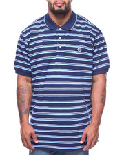 Chaps - S/S Stripe Polo (B&T)
