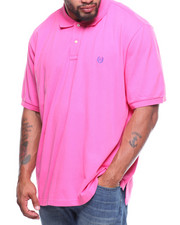 Chaps - S/S Solid Stretch Mesh Polo (B&T)
