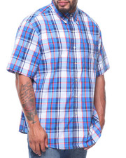 Button-downs - S/S Easycare Large Check Woven (B&T)