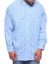 Men - L/S Easycare Stretch Tattersall Woven (B&T)