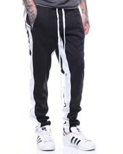 Pants - TRICOT DUAL STRIP TRACK PANT W ELONGATED STRING