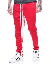 Buyers Picks - TRICOT DUAL STRIP TRACK PANT W ELONGATED STRING