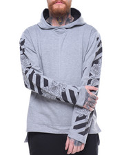 Hoodies - X Barcode and Roses Hoody