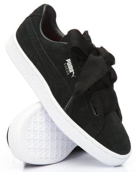 wholesale dealer 3359e cfa0e Buy Suede Heart Valentine Jr Sneakers (4-7) Girls Footwear ...