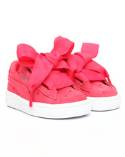 Toddler & Infant (0-4 yrs) - Suede Heart Valentine Inf Sneakers (4-10)-2187303