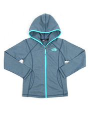 Sizes 7-20 - Big Kids - Tech Fleece Glacier Full Zip Hoodie (6-18)