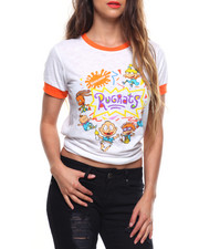 Tops - Rugrats Fitted Slub Ringer Tee