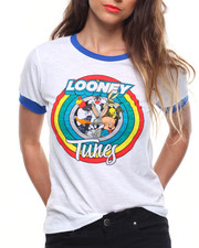 Spring-Summer-W - Looney Tunes Fitted Slub Ringer Tee