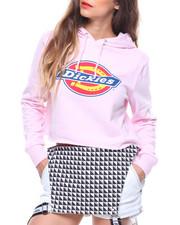 Women - Logo Cropped Hoodie-2186349
