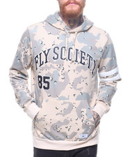 Flysociety - Split Mixed Camo Hoodie-2186911