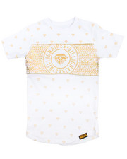 Boys - All Over Foil Tee (8-20)